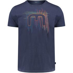 Meru Leeston T-Shirt Men Blue Nights